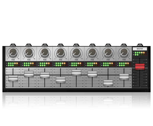 MX8 Eight Channel Mixer