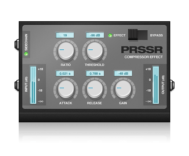 PRSSR Compressor Effect