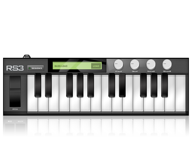 RS3 Polyphonic Keyboard